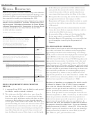 Instructions For Claims Based On Credit(s) Form Nyc-8 - 2001