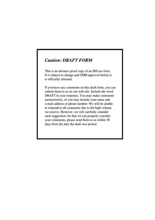 Fillable Form 5310-A Draft - Notice Of Plan Merger Or Consolidation, Spinoff, Or Transfer Of Plan Assets Or Liabilities; Notice Of Qualified Separate Lines Of Business - Internal Revenue Service Printable pdf