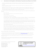 Instructions For Form Cd-479 - Business Corporation Annual Report - North Carolina Secretary Of State