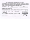 Form Dmv-610 - South Dakota Uniform Damage Disclosure Statement