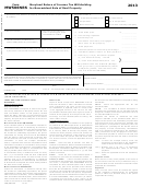 Form Mw506nrs - Maryland Return Of Income Tax Withholding For Nonresident Sale Of Real Property - 2013