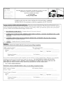 Form P-complaint - Complaint Involving Intrastate Motor Carrier Operations