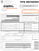 Form 571-l - Business Property Statement - 2013