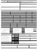Forma 433-f/sp - Declaracion De Ingresos Y Gastos (collection Information Statement)