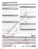 California Form 3522 Draft - Llc Tax Voucher - 2012