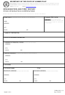 Form Cos-1-1.0 - Organization And First Report Stock Or Non-stock Corporations