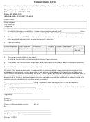 Holder Claim Form - Oregon Department Of State Lands
