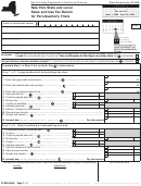 Form St-809 -sales And Use Tax Return For Part-quarterly Filers 2004