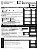 Form Mo-a - Individual Income Tax Adjustments - 2005
