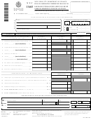 Form Nyc-3360f - Financial Corporation Tax Report Of Change In Tax Base Made By Internal Revenue Service And/or New York State Department Of Taxation And Finance
