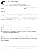 Form Pro5 - Claim Reconsideation Request - 1199seiu Benefit Funds - 2013