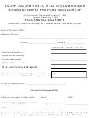 Gross Receipts Tax Fund Assessment - South Dakota Public Utilities Commission - 2002-2003