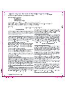 Notice Of Change Instructions - Washington Department Of Labor