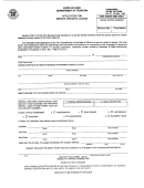 Form St 1-s - Application For Service Vendor's License - Ohio Department Of Taxation