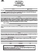 Form M-5008 - Power Of Attorney - Nj Division Of Taxation