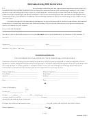 Nebraska Living Will Declaration Form