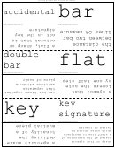 Music Terms Flash Cards