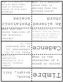 Music Terminology Flash Cards