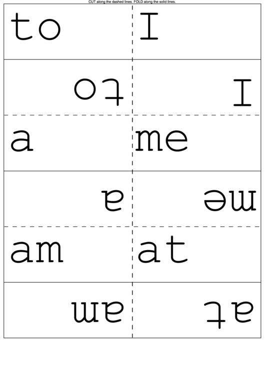 Kindergarten Sight Words Flash Cards printable pdf download