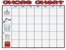 Basic Household Chore Chart