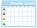 Weekly Children's Chore Chart