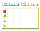 Daycare Weekly Chore Chart
