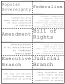 Government Terms Flash Cards