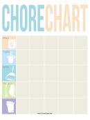 Pastel Weekly Chore Chart