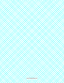Crosshatch Paper Template - 0.5 Per Inch