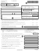 Form Bi-471 - Vermont Business Income Tax Return - 2013