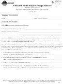 Montana Form Ftb-p - First-time Home Buyer Savings Account Penalty Calculation For Self-administered Individual Accounts - 2004