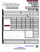 Form 2039 - Nonprotested Sales Tax Payment Report
