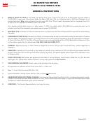 Dc Estate Tax Return Form D-76 & Form D-76 Ez - General Instructions