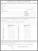 Uniform Sales & Use Tax Certificate Template - Multijurisdiction - 1998