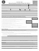 Form M-706 - Massachusetts Resident Estate Tax Return