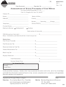 Montana Form Gp-1 - Assessment Of Gross Proceeds Of Coal Mines