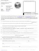 Amended Certificate Of Authority Of Foreign Corporation Application - Montana Secretary Of State
