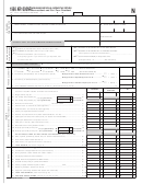 Form Ar1000nr (n) - Arkansas Individual Income Tax Return Nonresident And Part Year Resident - 1998