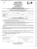 Form L-9 - Resident Decedent Affidavit Requesting Real Property Tax Waiver