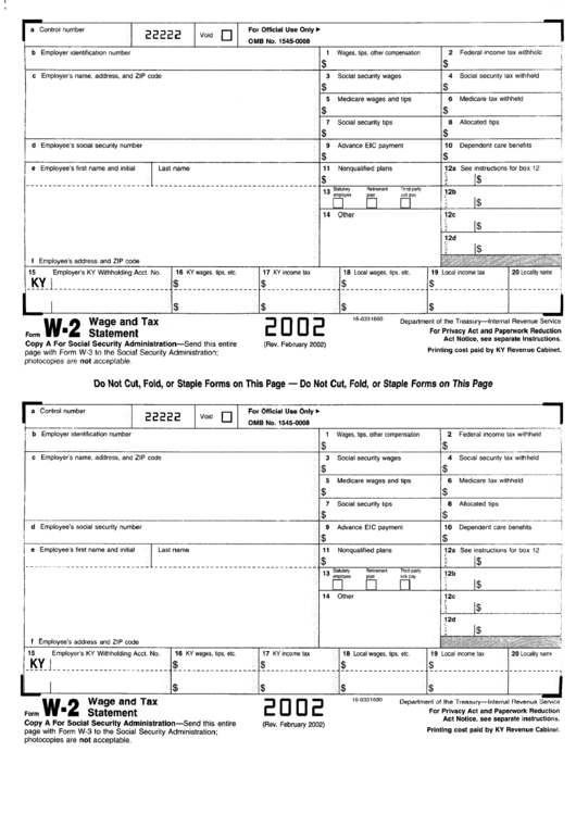 united states tax forms w forms