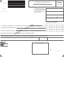 Form Tc-941 Draft - Utah Withholding Return, Form Tc-941r - Utah Annual Withholding Reconciliation, Form Tc-941pc - Payment Coupon For Utah Withholding Tax