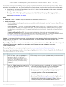 Form Llc-4/7 - Instructions For Completing The Certificate Of Cancellation - 2017