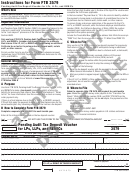 Form 3579 Draft - Pending Audit Tax Deposit Voucher For Lps, Llps, And Remics