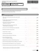 Form Bi-473 - Partnership/limited Liability Company Schedule - 1999