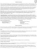 Form F-1120x - General Instructions - Florida Department Of Revenue