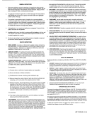 Form Atf F 5120.25 - General Instructions - Department Of The Treasury