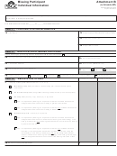 Attachment B To Schedule Mp - Missing Participant Individual Information