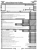 Form 541 - California Fiduciary Income Tax Return - 1998
