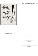 Prom After Party Invitation Template