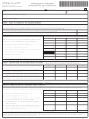 Form 500c - Underpayment Of Virginia Estimated Tax By Corporations - 2015